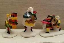 Dept 56 North Pole accessory 56022 Toymaker Elves set of 3 MIB NOS Retired