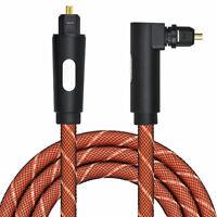Digital Optical Audio Cable 90 Degree Angle