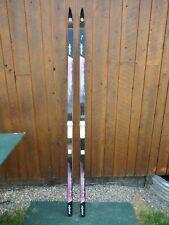 "Ready To Use Cross Country 79"" ALPINA 205 CM Skis + Bindings Automatic 2 Salomon"