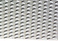 "12"" X 48"" UNIVERSAL SILVER ALUMINUM HONEYCOMB MESH for your CUSTOM GRILL GRILLE"