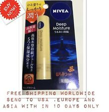 Nivea Honey Flavor Deep Moisture Lip Balm SPF20 PA++ import NEW Japan Unisex