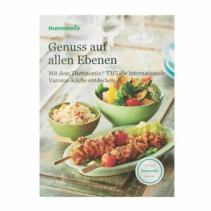 THERMOMIX Kochbuch – Genuss auf allen Ebenen – mit dem Thermomix TM5 …