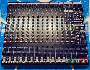 Midas DM16 16 Channel Analog Mixer *WELL CARED FOR*