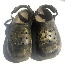 Crocs Realtree Camo Clogs Unisex Men 7 Women 9 Shoes Camouflage Outdoor Sandals