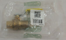 """Brass Gas Ball Valve by Red White Valve Corp 3/4"""" PN 5549AB 600 Wog New"""