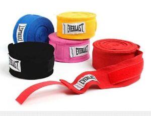 "Everlast Pro Style Hand Wraps 4456 Boxing Fitness MMA Training Adult 180""/4.6m"