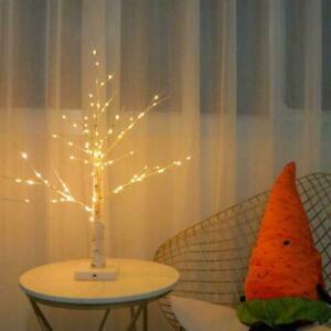 2021 Easter Birch Tree Lights New M3W0