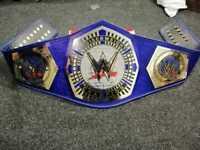 WWE Cruiser Weight Wrestling Championship Belt 4mm Brass Plate