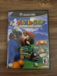 Mario Golf: Toadstool Tour (Nintendo GameCube) CIB COMPLETE IN BOX BLACK LABEL