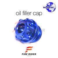 Blue CNC Oil Filler Cap 1pc For Suzuki GSXR 1000  01-16 02 03 04 05 06 07 08 09