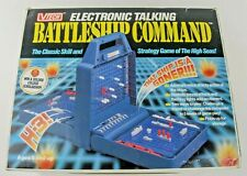 Vtech Electronic Talking Battleship Command Vintage Strategy Game #80-1206 1990