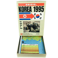 CRISIS KOREA 1995 GMT War Game UNPUNCHED Complete VG+