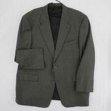 AUSTIN REED Vtg Slate Gray Brown Wool Blazer Sport Coat Suit Jacket Men's 44 44R
