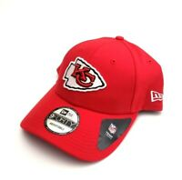 Kansas City Chiefs NFL New Era 9Forty Team Adjustable Snapback Hat Red OSFM