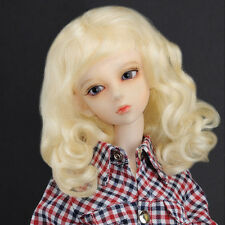 "Dollmore  1/3BJD OOAK Supplier SD wig (8-9)""  Princess Mohair (Blonde)"