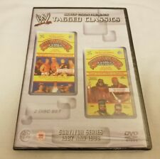 NEW & SEALED WWE Tagged Classics Survivor Series 1987 & 1988 DVD WWF VERY RARE