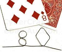 MEMORY WIRE PREDICTION 8 DIAMONDS FIRE REVEAL CARD MAGIC TRICK WIREGRAM DYNAMO