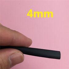 2 Meters/lot 2:1 Black 4mm Heat Shrink Heatshrink Tube Sleeving Wrap Wire L54