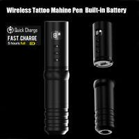 Wireless Rotary Tattoo Machine Pen Mabuchi Motor Built-in Battery Fast Charging