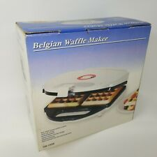 Belgian Waffle Maker Model TSK-245W w/ Original Box & Instruction Manual Walmart