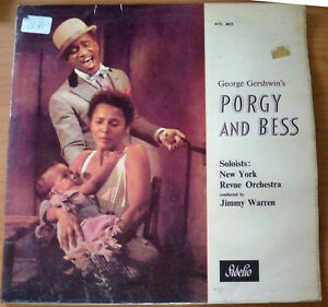 George Gershwin's Porgy and Bess, New York Revue Orchestra - LP Record