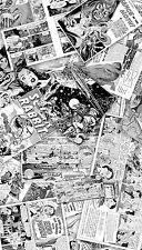VW T4 Fuel Flap Wrap vintage black & white comic book sticker bomb sticker bomb