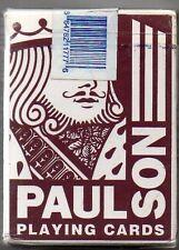 JEU DE CARTES DE POKER   PAULSON CARDS   JOUEES AU HOOTERS CASINO LAS VEGAS