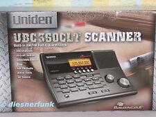 UNIDEN BEARCAT UBC 360 CLT Tischscanner 0.5-960Mhz Flug Taxi UKW CB FUNK MW BOS