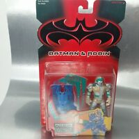 Frostbite action figure, batman & robin Kenner  on card