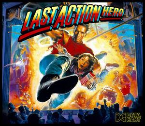 Last Action Hero Pinball Alternate Translite