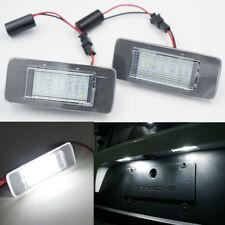 2x LED SMD License Plate Number Lights Error Free Opel Zafira Tourer C