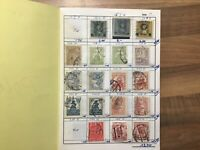 Vintage POLAND Postage Stamps in booklet #00 18 pages