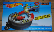 Hot Wheels Team Spiral Speedway Racing Car Track Play Set Includes 1 Car