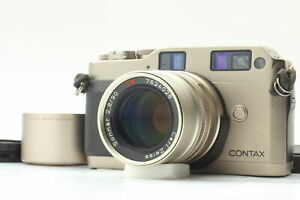 [N MINT] Contax G1 Green Label 35mm Rangefinder Camera 90mm F2.8 Lens From JAPAN