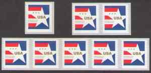 US. 5433 (10c) Presorted Star. Single, Pair, Strip of 5, Lot of 8. MNH. 2020