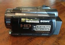 SONY Handycam HDR-XR500V 120 GB * Camcorder NTSC - Black + Necessary Accessories