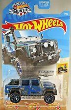 2019 Hot Wheels #4 Walmart Zamac '15 LAND ROVER DEFENDER DOUBLE CAB Zamac