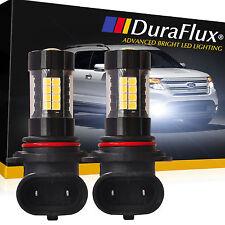 DuraFlux 9006 HB4 160W OSRAM LED Fog Driving Light Bulbs 6000K 2500LM 6K White