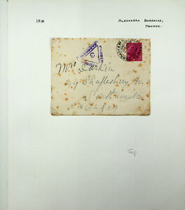INDIA USED IN BURMA 1918 KG V 1a ON WWI CENSORED COVER ALEXANDRA BARRACKS TO GB