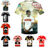 Women Men T-Shirt 3D Print Short Sleeve Tee Tops Rapper Nipsey Hussle Casual