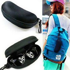 EVA Zipper Eye Glasses Sunglasses Hard Cases Portable Protector Black Holder Box