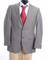 HUGO BOSS Sakko Jacket The James Gr.48 grau uni Einreiher 2-Knopf -S853