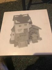Deptment 56 Heritage Village Collection #5953-6 Alpine Village Stoder Grist Mill