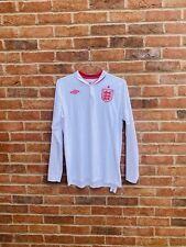 "England Euro 2012 Home Shirt Longsleeve Large L 42"" Umbro"