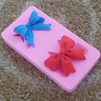 NEW Silicone Butterfly Bow DIY Mould Sugarcraft Baking Tool Cake Decoration