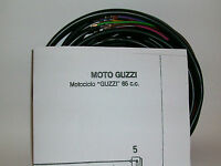 IMPIANTO ELETTRICO ELECTRICAL WIRING MOTO GUZZI GUZZINO 65 CON SCHEMA ELETTRICO
