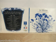 IN BLOOM - A Collection Of French Electronica  PROMO 2xCD  ST GERMAIN ETIENNE DE
