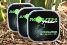 Korda Mouth Trap 20Lb / Carp Fishing Chod Filament