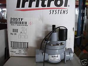 "Irritrol 205TF 1"" Female NPT Thread Flow Control Valve With 24V Solenoid"