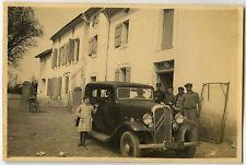 PHOTO ANCIENNE - VOITURE TRACTION CITROËN TACOT MAISON - CAR - Vintage Snapshot